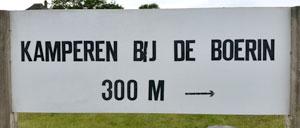 Kamperen bij de Boerin na 300 meter